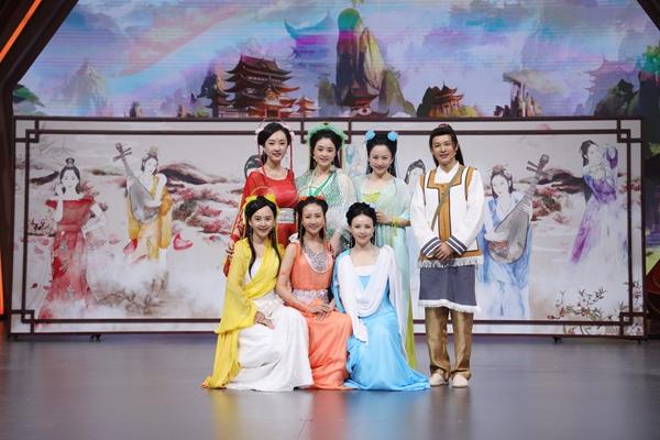杨颖、王子文领衔四美玩转《王牌对王牌》 七仙女剧组十七年后再相聚
