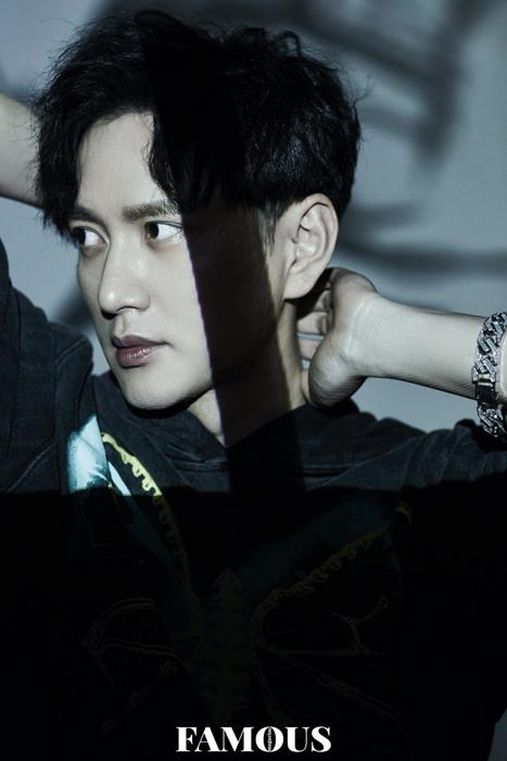 王仁君时尚大片释出 氛围感十足展现型男魅力